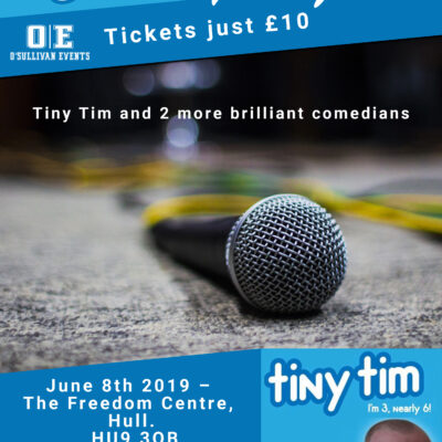 Comedy Night at The Freedom Centre in Hull, June 8th