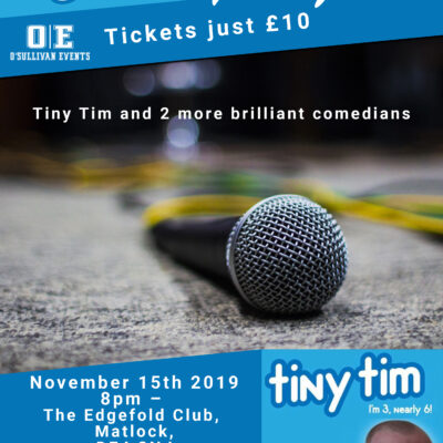 Comedy event The Edgefold Club, Matlock