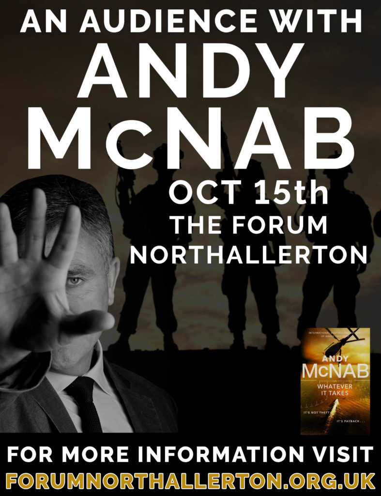 An audience with Andy McNab