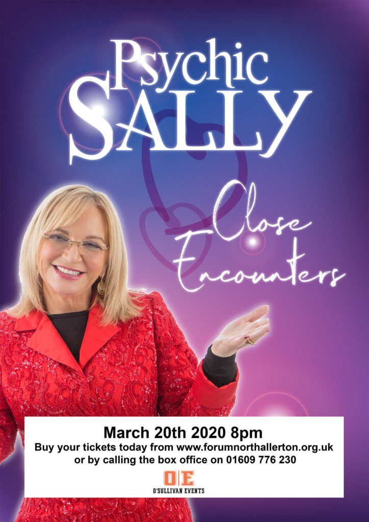 Psychic Sally Close Encounters at The Forum Northallerton Friday 20th March 2020
